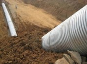 Anticorrosive Corrugated Steel Pipe